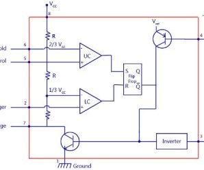 555 Timer IC Working of Astable,Mono-Stable,Bi-Stable Modes and Specifications