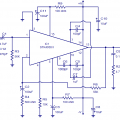 STK4038 IC 60-Watt Amplifier Circuit