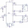 BA5406 IC 10W Stereo Amplifier Circuit