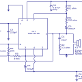 40W amplifier Circuit using TDA1514 IC