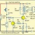 Power Saving Relay Driver Circuit for Microcontroller
