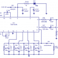 Stereo preamplifier tone control Circuit with TDA1524 IC