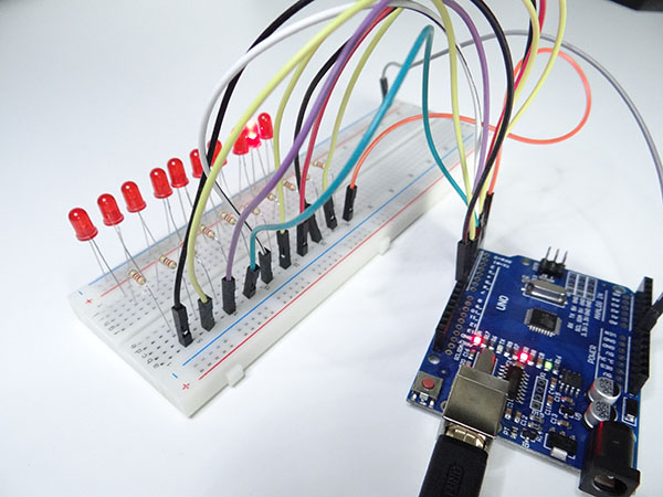 Arduino LED Knight Rider Arduino Projects for Beginners