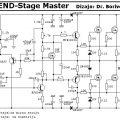 250W RMS Power Amplifier Legend Stage Master- Circuit Diagram