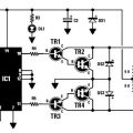 12v DC to 230v AC inverter circuit diagram