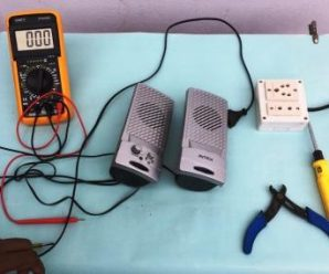 How to Repair Computer Speakers Power Problem | How to Fix Computer Speaker